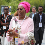Marguerite Barankitse arrives at UWC Dilijan