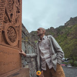 Dr. Tom Catena visits landmarks in Yerevan