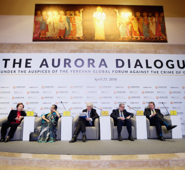 First-Ever Aurora Dialogues Hosted for Humanitarian Discussion main image