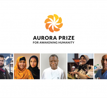 Five Finalists Selected for Aurora Prize for Awakening Humanity in Recognition of their Inspiring Acts of Compassion main image