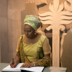 Marguerite Barankitse and the Memory Book of Honorable Guests