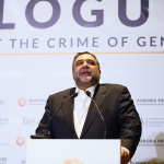 Ruben Vardnyan Welcomes Guests to the Aurora Dialogues