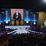 George Clooney honors the inaugural Aurora Prize Laureate and finalists