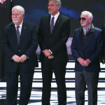 Vartan Gregorian, George Clooney and Charles Aznavour