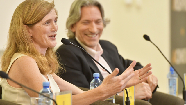 Ambassador Samantha Power and John Prendergast