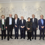 Aurpra Prize Selection Committee members gather in Yerevan