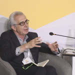 Ernesto Zedillo speaks at the Aurora Dialogues