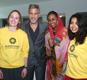 George Clooney visits United World College Dilijan main image