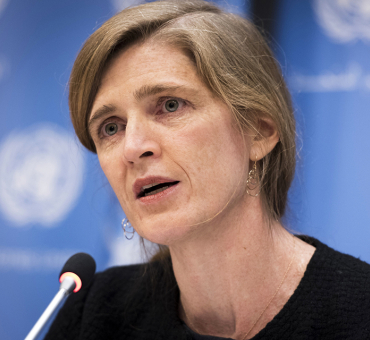 Ambassador Samantha Power Joins the Aurora Prize Selection Committee main image