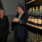 Aurora Prize Selection Committee Co-Chair George Clooney at the Ararat Museum