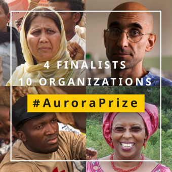 Announcing the Four Exceptional Humanitarians Chosen as Finalists for the $1 Million Aurora Prize for Awakening Humanity 2016 main image