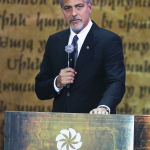 George Clooney honors the 2016 Aurora Prize Laureate and finalists