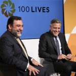 Ruben Vardanyan and George Clooney