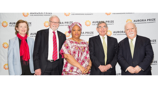 Aurora Prize Selection Committee Members in New York City